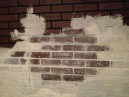 Faux Exposed Brick Already Have The Faux Brick Paneling This Will Improve The