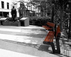 contemporary public space furniture design bd love. Public Bench / Contemporary Wooden Metal Space Furniture Design Bd Love