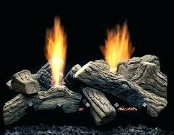 vented vs ventless gas logs vented vs gas fireplace logs review see thru vent free log