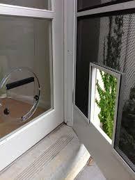 pet door installation in bentleigh east by ometek glass