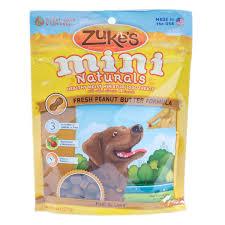 zuke s mini naturals fresh peanut er formula dog treats