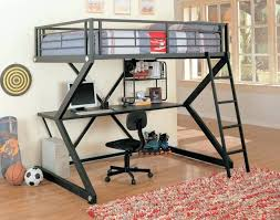 single bunk bed with desk this scissor frame metal bunk bed sports an ultra modern look single bunk bed with desk