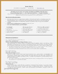 Budget Accountant Sample Resume Best Sample Resume Accounting Director Inspirational Sample Resume For