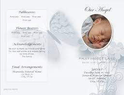 Child Funeral Program Template LifecyclePrints Celebration Of Life Funeral Program Templates 12