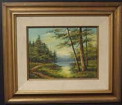 Sold Price: PHILLIP CANTRELL LANDSCAPE PAINTING - September 6, 0115 12:00  PM PDT