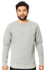 Dope Crewneck Quilted Sweatshirt in Heather Grey - Karmaloop.com & The Quilted Sweatshirt in Heather Grey Adamdwight.com