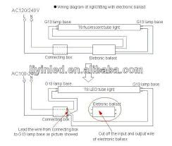 led tube light connection diagram led image wiring twin tube fluorescent light wiring diagram jodebal com on led tube light connection diagram