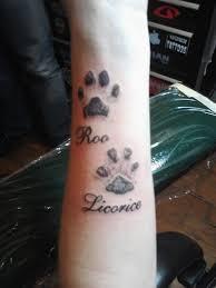 Tetování Reálný Otisk Psí Tlapky Diskuze Omlazenícz 2