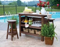 diy patio bar plans. Awesome Creative And Simple Diy Outdoor Bar Ideas For Your Home Picture Of Outside Trend Games Patio Plans