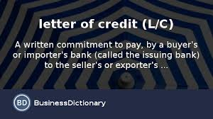 Sample Letter Of Credit Impressive What Is Letter Of Credit LC Definition And Meaning