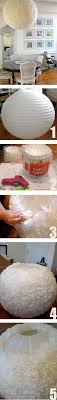 Paper Lantern Bedroom Diy Lampenkap Met Een Ikea Lamp En Koffiefilters