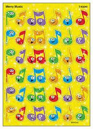 Details About 72 Merry Music Sparkle Kids Reward Stickers For Progress Charts