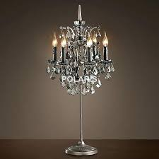 chandelier table lamp factory modern vintage crystal candle lighting rustic table lamp desk lights for chandelier table lamp