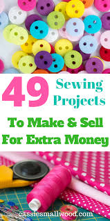how to make money sewing at home
