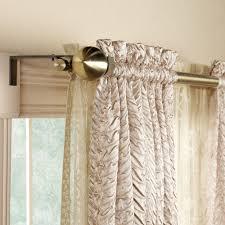 nice ideas double curtains fancy design decorative curtain rod 28 to 86