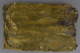 this 2 000 year old scroll is covered with mysterious words in aramaic miomir korac archaeological insute