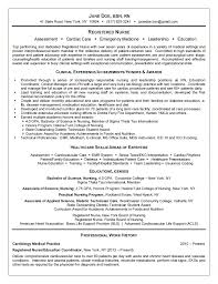 Nursing Resume Enchanting Registered Nurse Resume