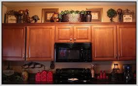 Above Kitchen Cabinet Decorations Interesting Ideas