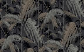 Palm Jungle Zwart