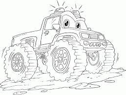Monster Truck Grave Digger Coloring Pages Kleurplaten Kids