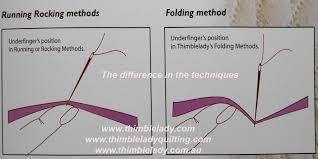 Perfect Hand Quilting Book & DVD & See the illustration below for the difference Thimblelady's folding  technique makes to your undefinger. When the thimble contols needle so much  better, ... Adamdwight.com