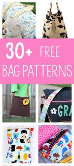Free Bag Patterns Fascinating 48 Bag Sewing Patterns