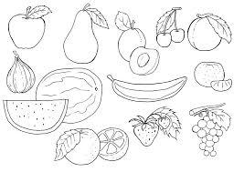 Bello Disegni Da Colorare Frutta Migliori Pagine Da Colorare E
