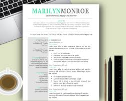 Resume Example Cool Resume Templates For Mac Resume Template For