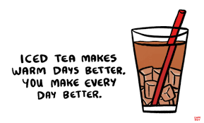 tea drawing tumblr. Plain Tumblr Image Description Drawing Of Iced Tea Next To A Handwritten Caption That  Says U201cIced Makes Warm Days Better You Make Every Day Betteru201d Inside Tea Drawing Tumblr