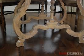 circlular table top legs
