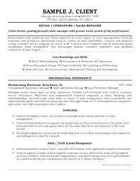 Sample Resume For Retail Manager Retail Store Supervisor Resume Retail Manager Resumes Stylish Retail 83