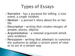 essays senior high english ppt  essays senior high english 2 types