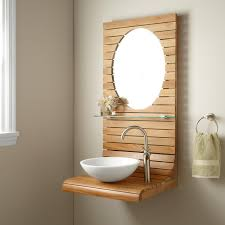 Teak Vanity Bathroom Bathroom Breathtaking Wall Mounted Vanity Charming Wall Mounted