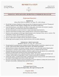 Paralegal Resumes That Stand Out Awesome Paralegal Resume
