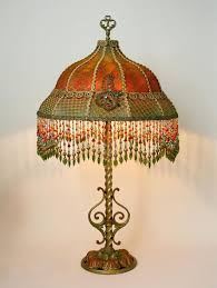 beaded lamp shades lamp shades lamp shades with golden colours style crystal antique lamps for plan beaded lamp shades