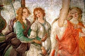 sandro botticelli venus and the graces