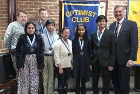 Optimist Essay Contest Optimists Honor Winners Of High School Middle School Essay