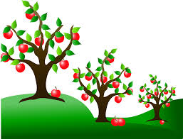bare apple tree clipart. apple bare tree clipart