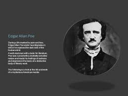 american gothic literature ppt video online 11 edgar allan poe