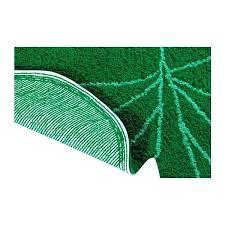 palm leaf rug bath