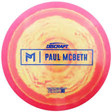 Joe S Flight Chart Discraft Limited Edition Prototype Paul Mcbeth Signature Esp Anax Distance Driver Golf Disc