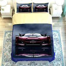 race car twin bedding set cars bedding twin blue and red print race car bedding set