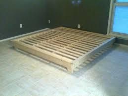 diy king size platform bed king size platform bed frames bed size platform frame kits plans