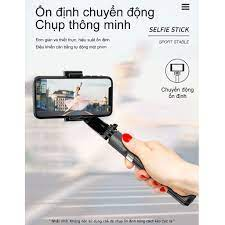 BH 1 ĐỔI 1】Tay Cầm Chống Rung Điện Tử Gimbal L08 Có Bluetooth - Gimbal Điện  Thoại Chống Rung - Có Chân Đỡ Tự Đứng-NBL08 - Phụ kiện chụp hình