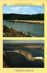 Army Corps Of Engineers River Charts Alabama River Navigation Charts Alabama River To Head Of