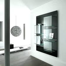 mirrored wall cabinet. Mirrored Tv Wall Cabinet Mirror Hidden Mount .