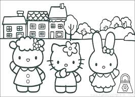 Coloring Hello Kitty Coloring Pages Printable Free To Print Cat