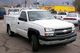 CNG Utah - 2006 Chevrolet Silverado 2500HD Utility Bed Bi-Fuel