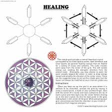 Crystal Grid Patterns Cool Is A Mandala The Same As A Crystal Grid Crystal Recommendations