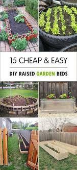 raised bed vegetable garden soil mix beautiful 15 easy diy raised garden beds